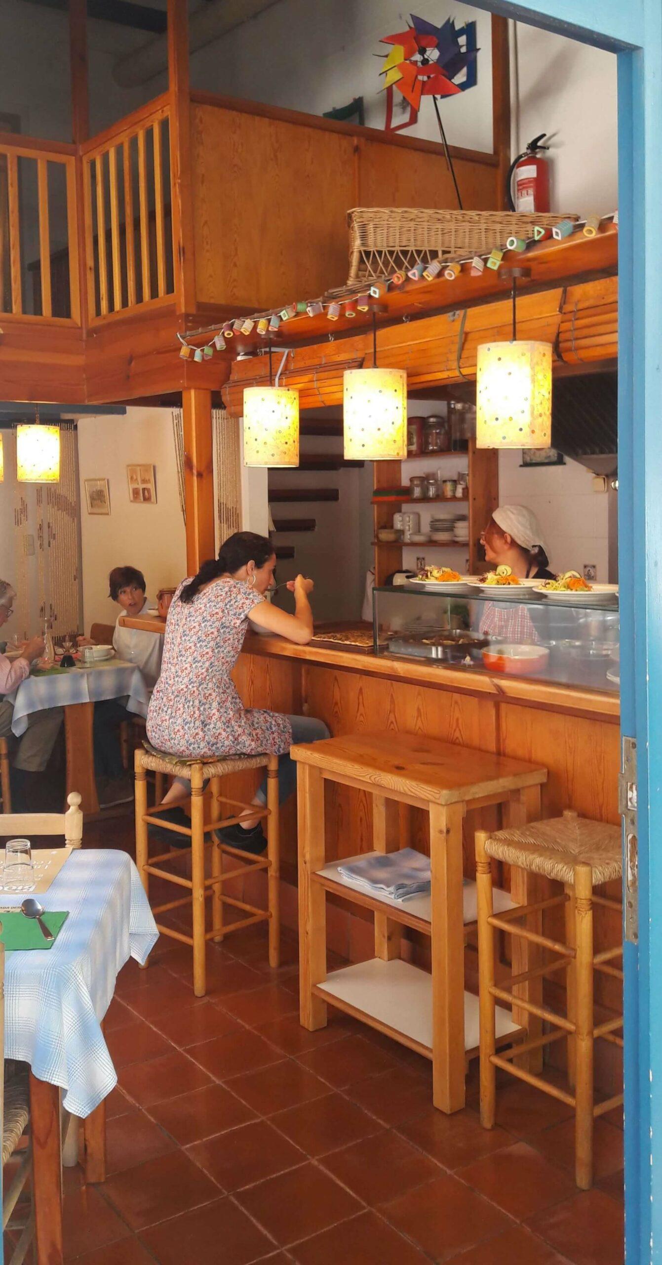 Restaurante comida sana barcelona